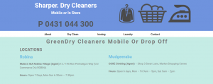 sharper dry cleaners in gold coast