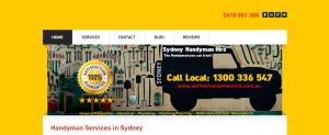 sydney handyman hire service