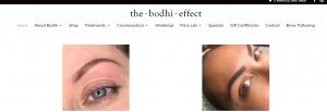 the bodhi effect beauty salon in newcastle