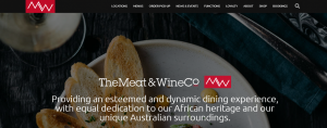 the meat and wine co in perth