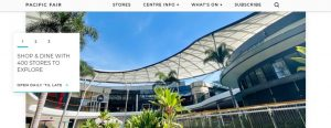 Pacific Fair Shopping Centre in Gold Coast