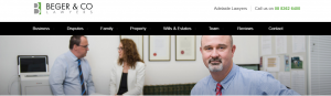 Beger and Co Property Lawyers in Adelaide