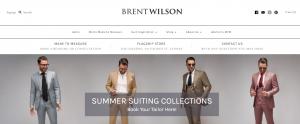 Brent Wilson menswear in Sydney
