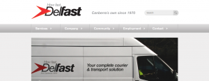 Delfast Courier Services in Canberra