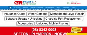 GR Phone repairs in Adelaide