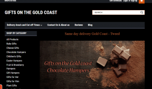 Gifts on the Gold Coast chocolates