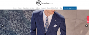Marchesi suits in Perth