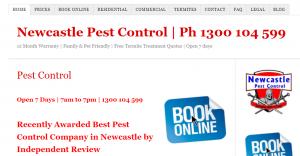 Newcastle Pest Control