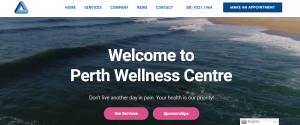 Perth Wellness Centre physiotherapy services