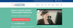 Psychology Melbourne Services