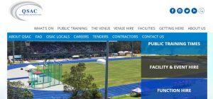 Queensland Sports and Athletics Centre in Brisbane