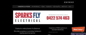 Sparks Fly Electrical Services in Canberra