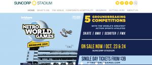 Suncorp Stadium in Brisbane
