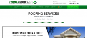 Sydney Roof services
