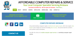 affordable computer repair services in brisbane