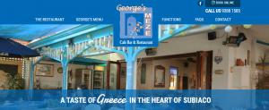 george's meze greek restaurant in perth