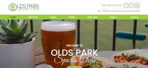 old park sports club in sydney