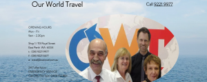 our world travel in perth