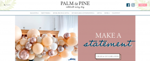 palm and pine stationery in newcastle