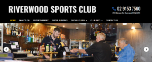 riverwood sports club in sydney