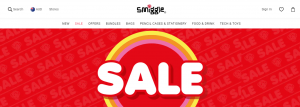 smiggle stationery store in newcastle