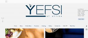 yesfi at attika greek cuisine in perth