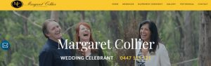 Margaret Collier, Marriage Celebrant in Melbourne