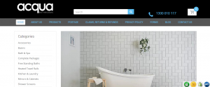 Acqua Bathroom Supplies in Sydney