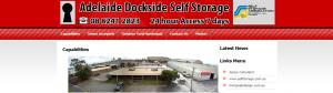 Adelaide Dockside Self Storage Facility
