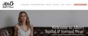 After5 Bridal and Formal Wear Store in Brisbane