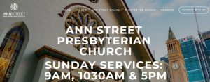 Ann Street Presbyterian Church in Brisbane