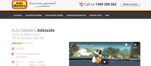 Auto Masters Mechanics in Adelaide