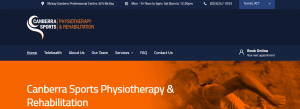 Canberra SportsnPhysiotherapy and Rehabilitation