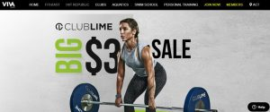 Club Lime Fitness Gym in Canberra
