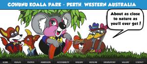 Cohunu Koala Park in Perth