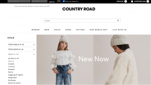 Country Road Children's Wear in Canberra