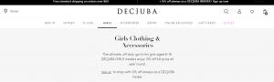 DECJUBA Girls' Clothing Store in Canberra