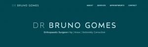 Dr Bruno Gomes, Orthopaedic Surgeon in Newcastle