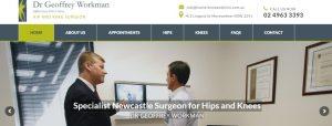 Dr Geoffrey Workman, Orthopaedic Surgeon in Newcastle