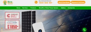 Eco Relief Solar Energy Company in Melbourne