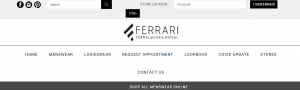 Ferrari Formalwear in Adelaide City