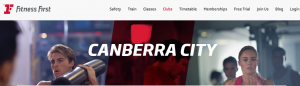 Fitness First Personal Trainers in Canberra