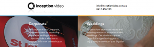 Inception Videographers in Perth
