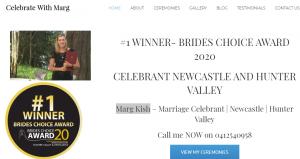 Marg Kish, Marriage Celebrant in Newcastle