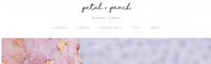 Petal and Peach Cake Shop in Brisbane