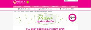 Priceline Pharmacy Flu Shots in Newcastle