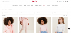 Seed Heritage Children's Clothing in Canberra