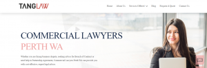 Tang Law Consumer Protection Lawyers in Perth