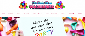 The Party Shop Warehouse in Melbourne