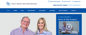 Tony Menz Orthopaedics in Adelaide